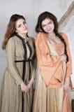 2 девушки одетой как принцесса Стоковая Фотография RF