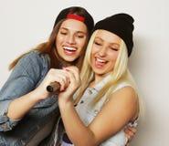 девушки пея Стоковые Изображения