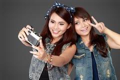 2 девушки подростка Стоковые Изображения