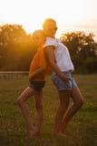 девушки подростковые 2 Стоковые Изображения RF