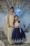 2 девушки сестры Стоковое Изображение RF
