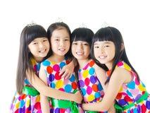 девушки счастливые стоковые изображения rf