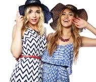 2 девушки лучших другов Стоковые Фотографии RF