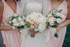девушки цветков 3 Стоковое Фото