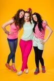 3 девушки Стоковые Изображения