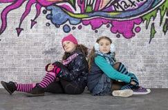 2 девушки Стоковое Фото