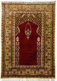 14-девятнадцатые ковры антиквариата столетия Стоковые Изображения