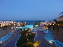египетская гостиница стоковое изображение