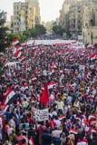Египетская демонстрация против Morsy Стоковое фото RF