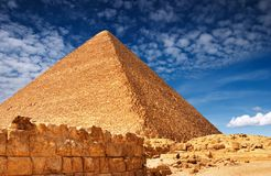 египетская пирамидка Стоковые Фото