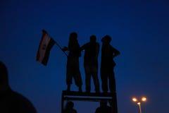 Египетская революция 30-ое июня 2013 Стоковая Фотография RF