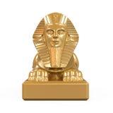 Египетская статуя сфинкса Стоковое фото RF