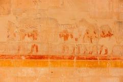 египетская фреска Стоковые Изображения