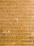 египетские иероглифы Стоковая Фотография RF
