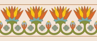 Египетские национальные орнаменты Стоковая Фотография RF