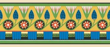 Египетские национальные орнаменты Стоковое Изображение RF