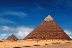 египетские пирамидки стоковые фото