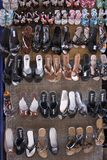 Египетские сандалии Стоковое Фото