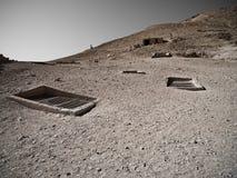 египетские усыпальницы Стоковое Фото
