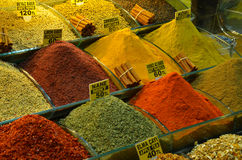 Египетский базар, Стамбул Стоковые Фотографии RF