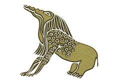 Египетский демон - едок косточки иллюстрация штока