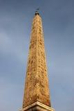 египетский квадрат rome popolo обелиска стоковые фото