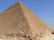 Египетский крупный план пирамиды. Стоковые Изображения RF