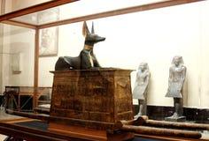 Египетский музей from inside стоковые фотографии rf