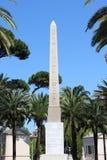 египетский обелиск стоковое фото rf