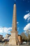 Египетский обелиск в аркаде San Giovanni Рим Италии Стоковая Фотография