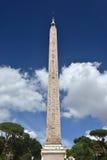 Египетский обелиск в Рим Стоковое фото RF