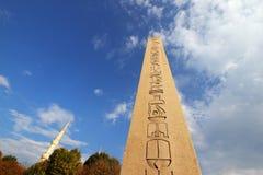 Египетский обелиск в Стамбуле Стоковая Фотография
