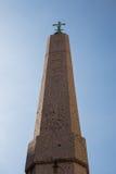 египетский обелиск Стоковые Фотографии RF