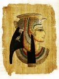 египетский пергамент Стоковое фото RF