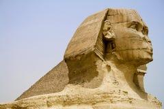 египетский сфинкс пирамидки Стоковое фото RF