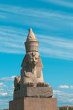египетский сфинкс святой petersburg России Стоковое Фото