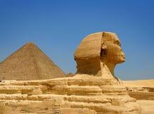 египетский сфинкс Стоковые Изображения