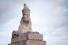 Египетский сфинкс Стоковое Изображение RF