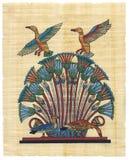 египетский papyrus Стоковое Фото