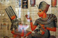 египетский papyrus Стоковое Изображение RF