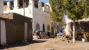 Египетское гетто, взгляд от Стоковое Изображение RF