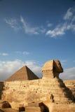 Египет, Гиза, пирамиды Стоковая Фотография