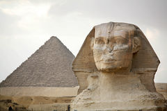 Египет, Гиза, пирамиды Стоковые Фото