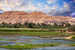 Египет Нил Стоковая Фотография RF