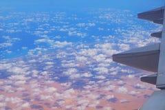 Египет от самолета стоковые изображения