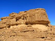 Египет покрашенный каньоном Стоковое Изображение RF