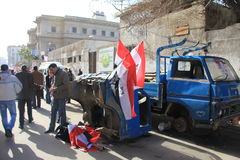 Египет протестует s Стоковое Фото
