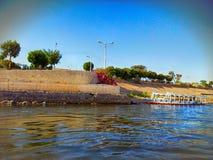 Египет, река Нил Стоковая Фотография