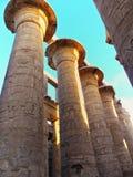 Египет, Северная Африка, висок Луксора, Karnak Стоковое Изображение