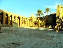 Египет, Северная Африка, висок Луксора, Karnak Стоковые Изображения